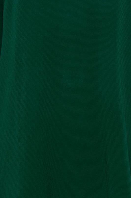 YOURS LONDON Forest Green Flute Sleeve Blouse_S.jpg