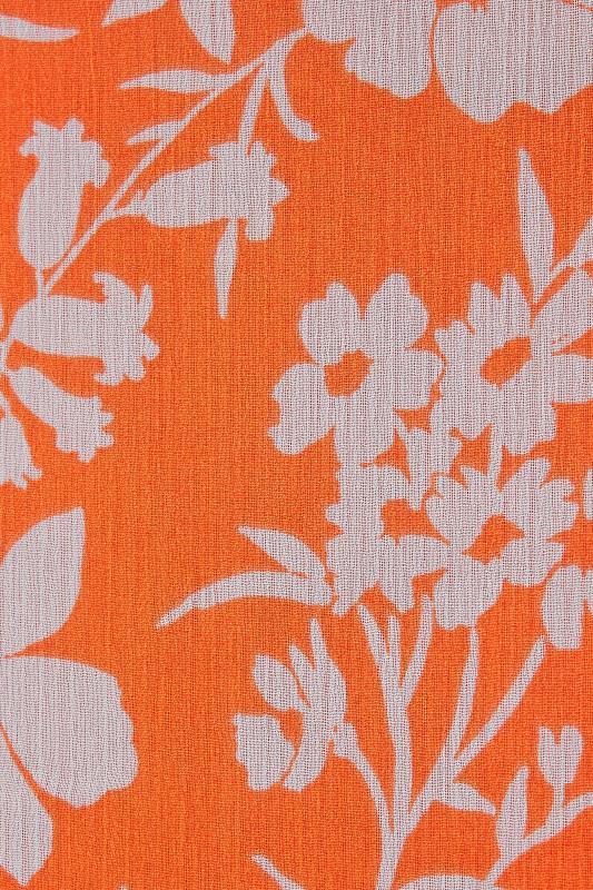 LTS Orange Floral Halter Neck Maxi Dress_S.jpg