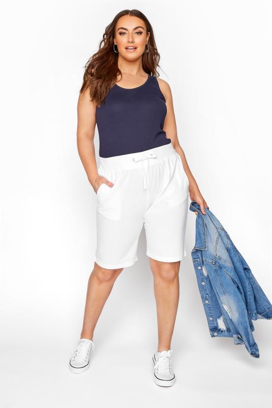 White Cool Cotton Shorts_B.jpg