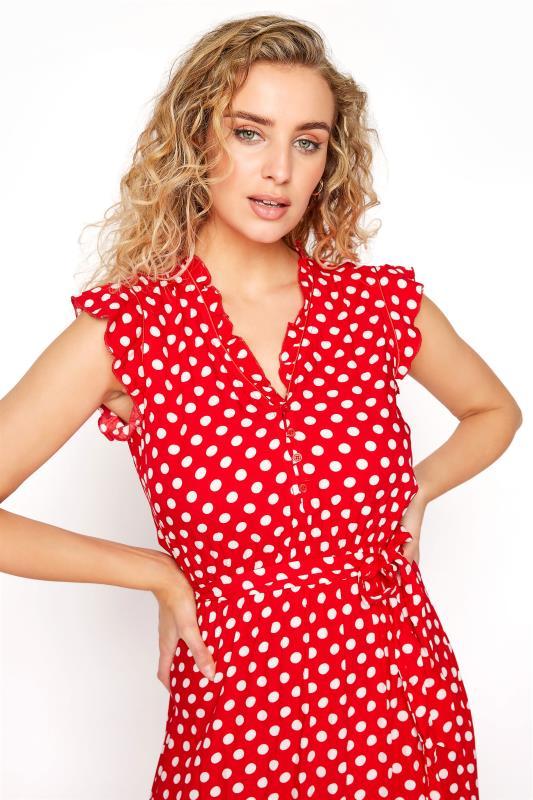 LTS Red Polka Dot Frill Maxi Dress_D.jpg