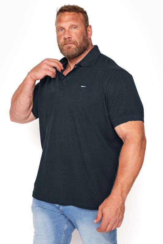 BadRhino Navy Essential Polo Shirt_M.jpg