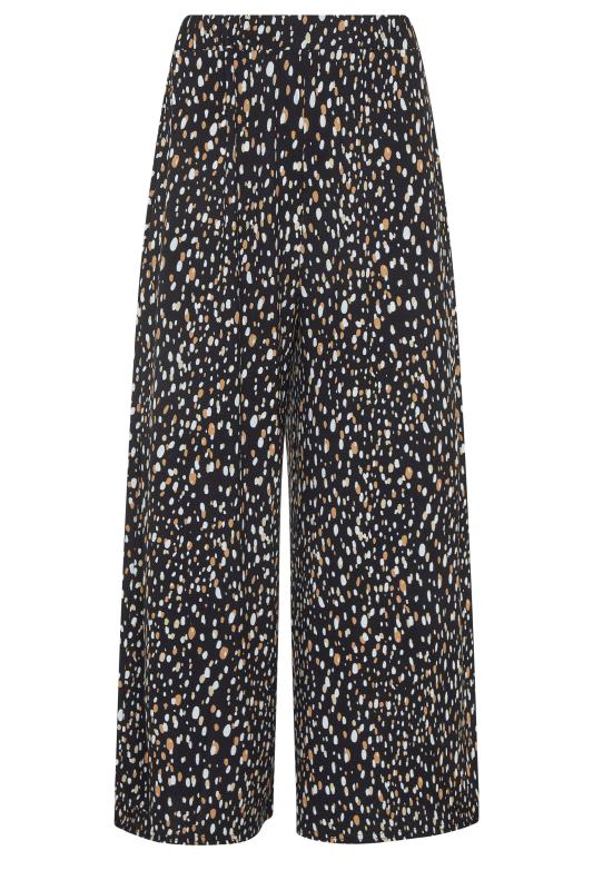 LTS Black Abstract Spot Cropped Trousers_f.jpg