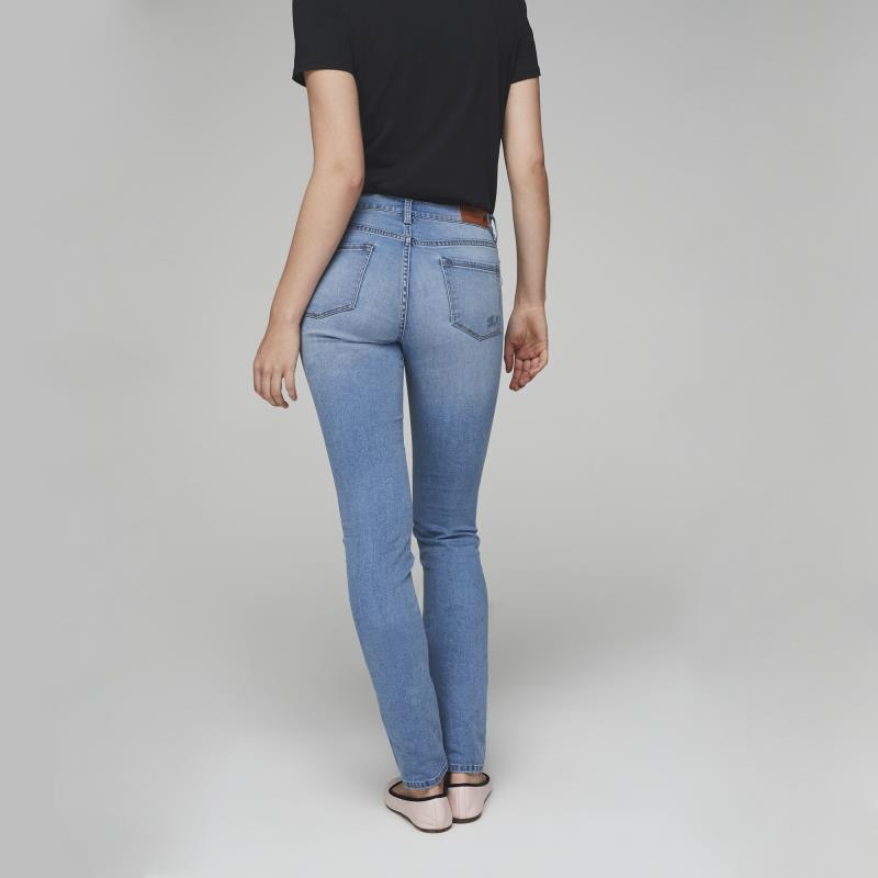 Karl Lagerfeld Paris Pearl Trim Jean