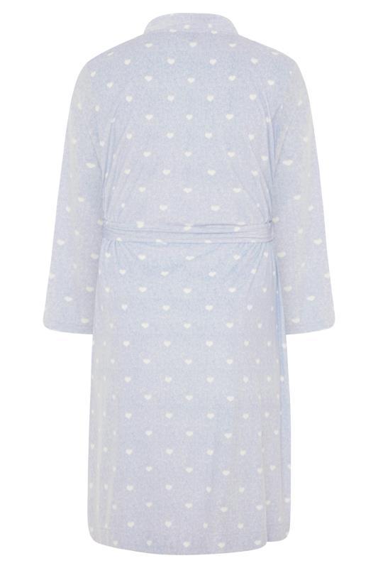 Powder Blue Flannel Fleece Heart Dressing Gown_BK.jpg