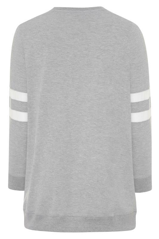 Grey Varsity Stripe California Sweatshirt_BK.jpg