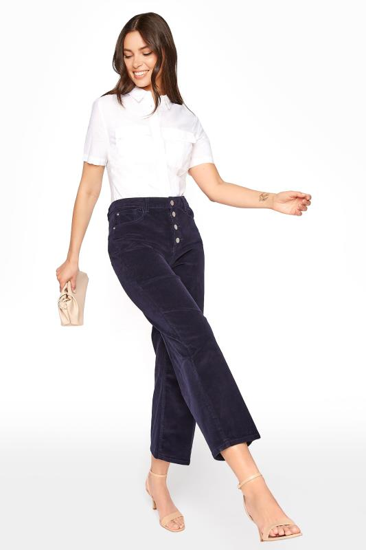 Navy Button Fly Cord Culotte_A.jpg