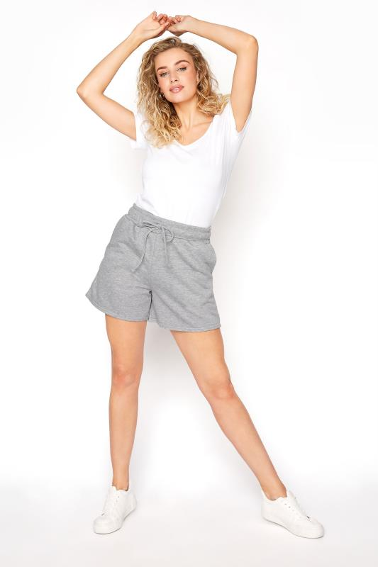 LTS Grey Marl Jersey Sweat Shorts_B.jpg