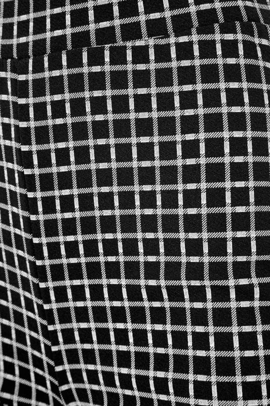 LTS Black Check Slim Leg Trousers_S.jpg