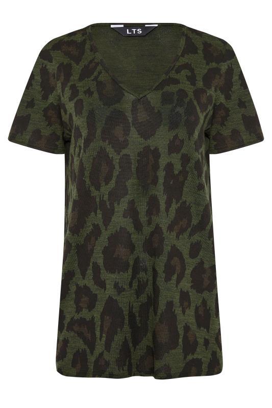 LTS Khaki Leopard Print Lounge Top_F.jpg