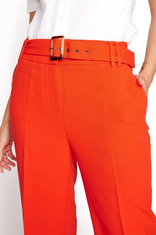 Orange Wide Leg Belted Culottes_D.jpg
