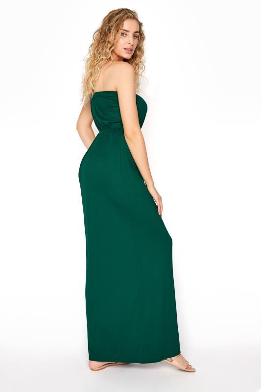 LTS Emerald Green Strapless Maxi Dress_C.jpg
