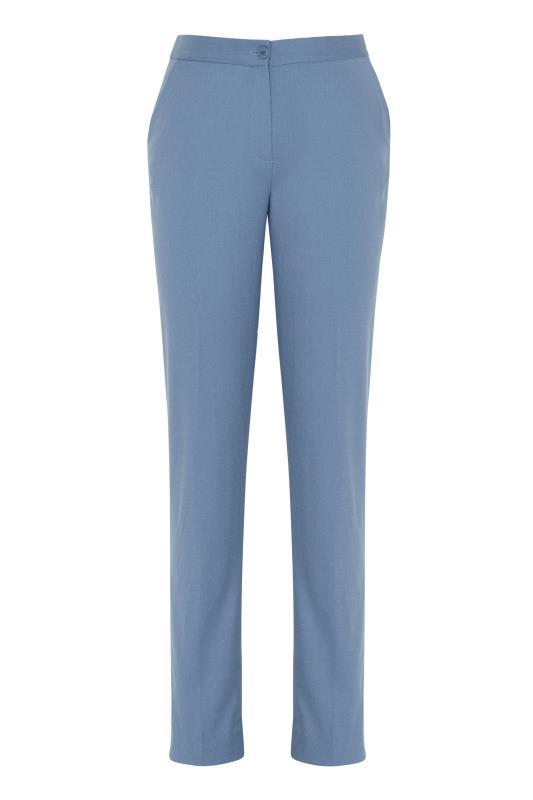 Blue Slim Leg Suit Trousers_F.jpg