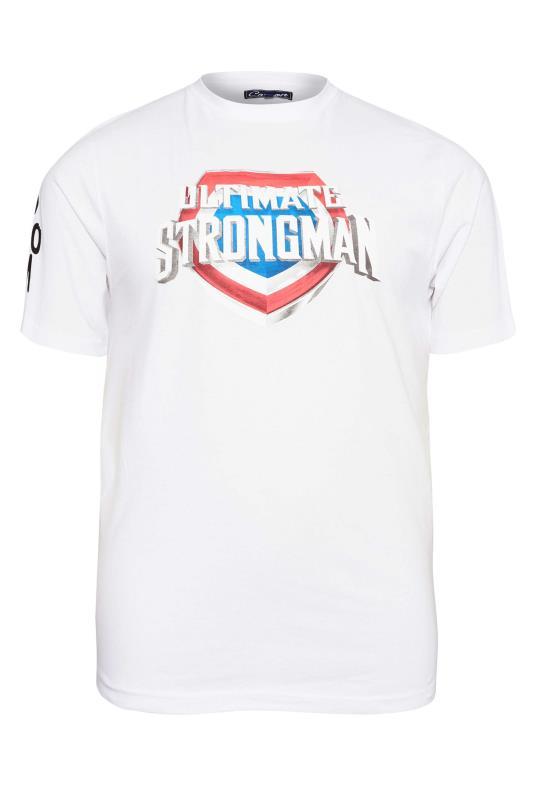 Men's  BadRhino White Ultimate Strongman T-Shirt