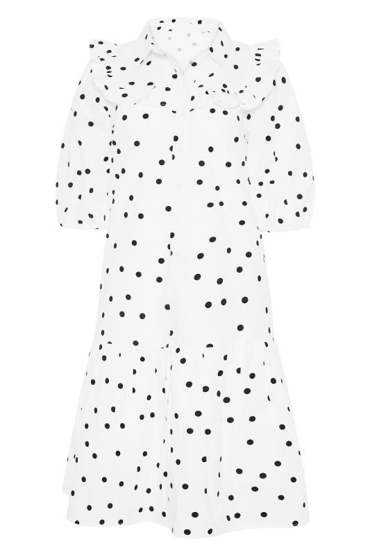 LTS White Polka Dot Puff Sleeve Dress_F.jpg