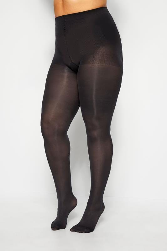 Black 80 Denier Tummy Shaping Tights