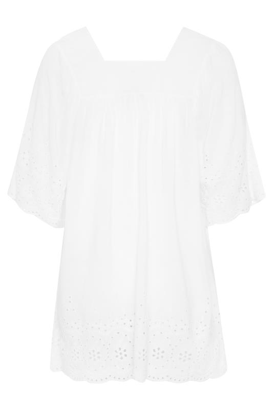 White Broderie Anglaise Milkmaid Top_BK.jpg