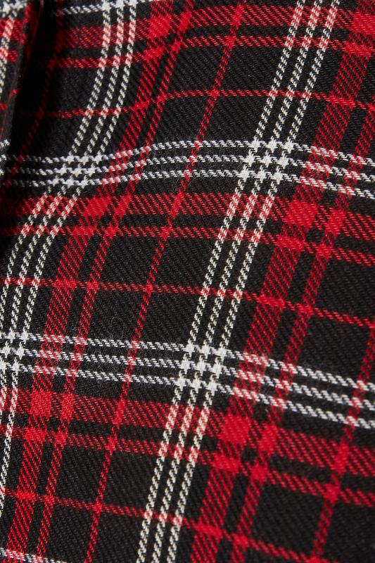 LIMITED COLLECTION Red Check Belted Shirt_S.jpg