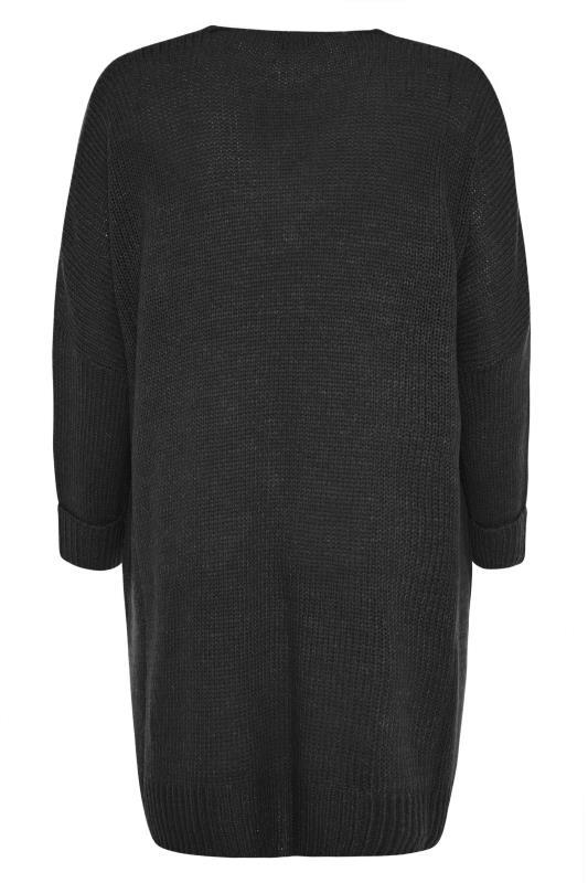 Black Drop Sleeve Knitted Jumper Dress_BK.jpg
