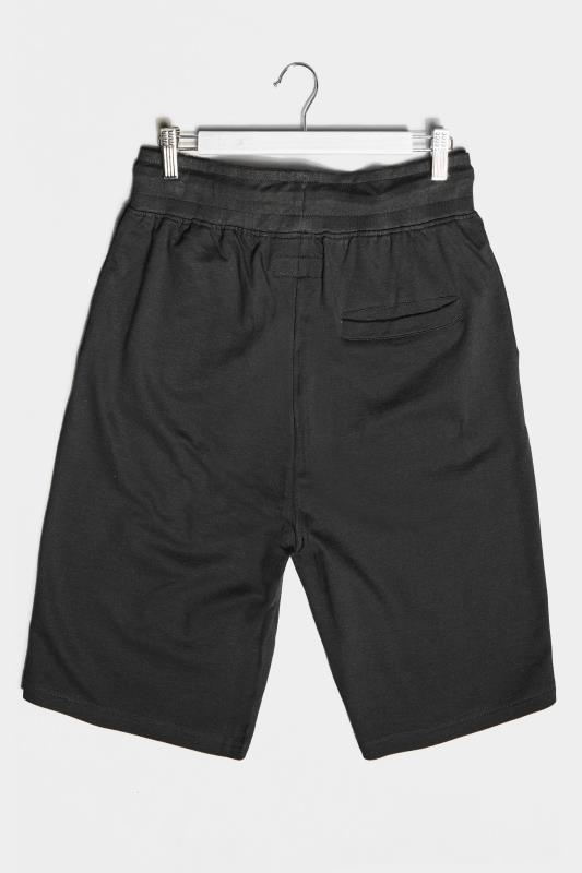 BadRhino Black Essential Jogger Shorts