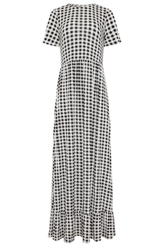 LTS Black Gingham Tiered Maxi Dress_F.jpg