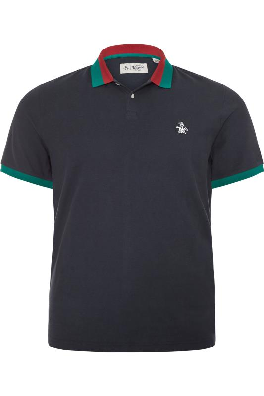 Plus Size Polo Shirts PENGUIN MUNSINGWEAR Navy Polo Shirt