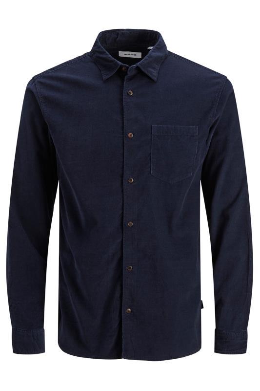 Men's  JACK & JONES Navy Cord Kendrick Shirt