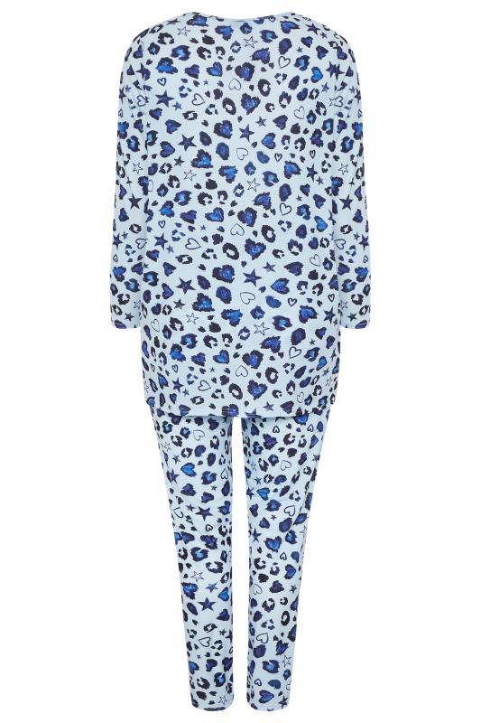 Blue Leopard Print Lounge Set_BK.jpg