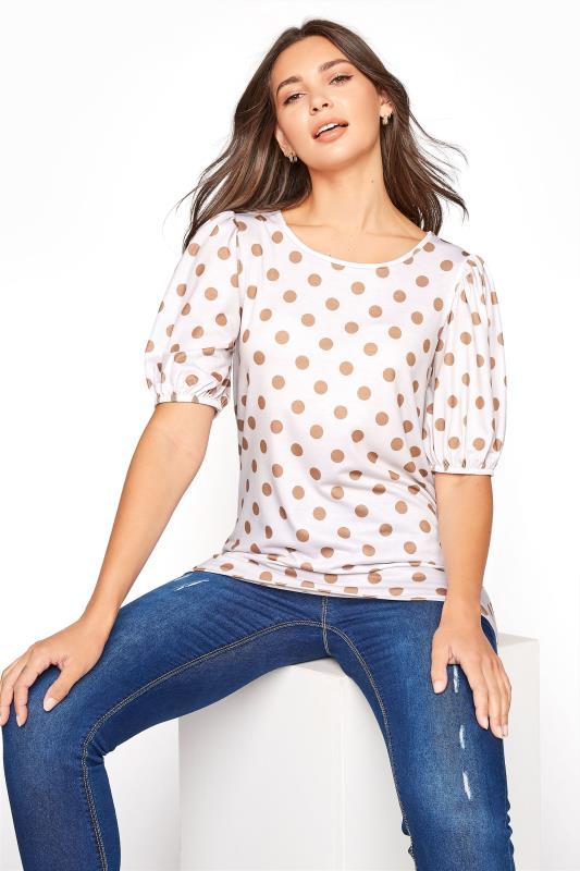 LTS Natural Spot Volume Sleeve T-Shirt_A.jpg