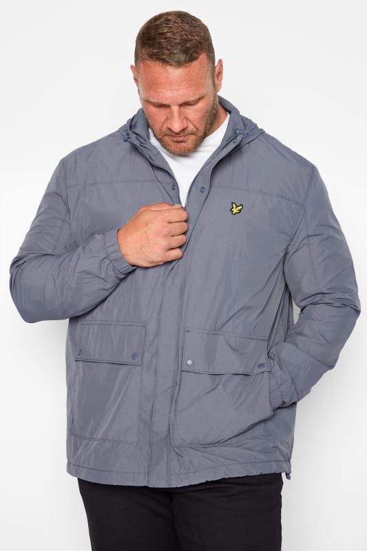 Plus Size  LYLE & SCOTT Grey Hooded Jacket