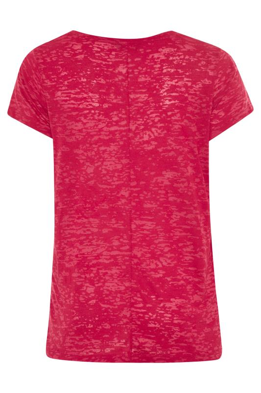 Red 'Moon Shine' Embellished T-Shirt_BK.jpg