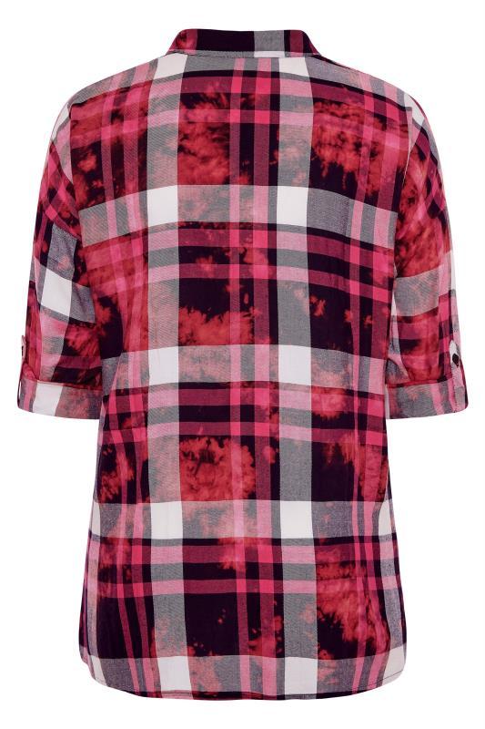 Pink Check Oversized Shirt_BK.jpg