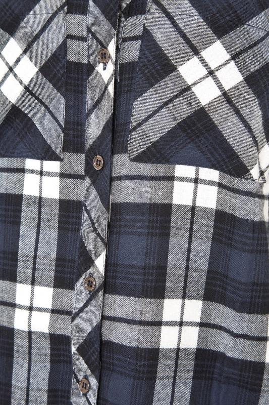 LTS Navy Check Boyfriend Shirt_S.jpg