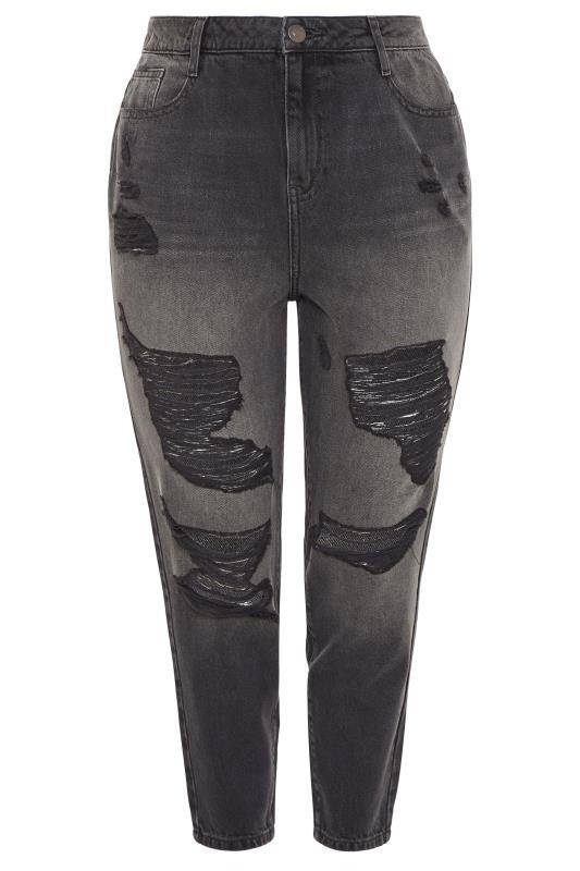 Black Extreme Distressed MOM Jeans_F.jpg