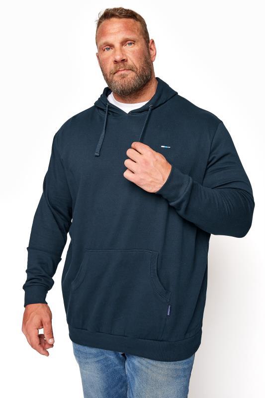 Men's  BadRhino Navy Essential Hoodie