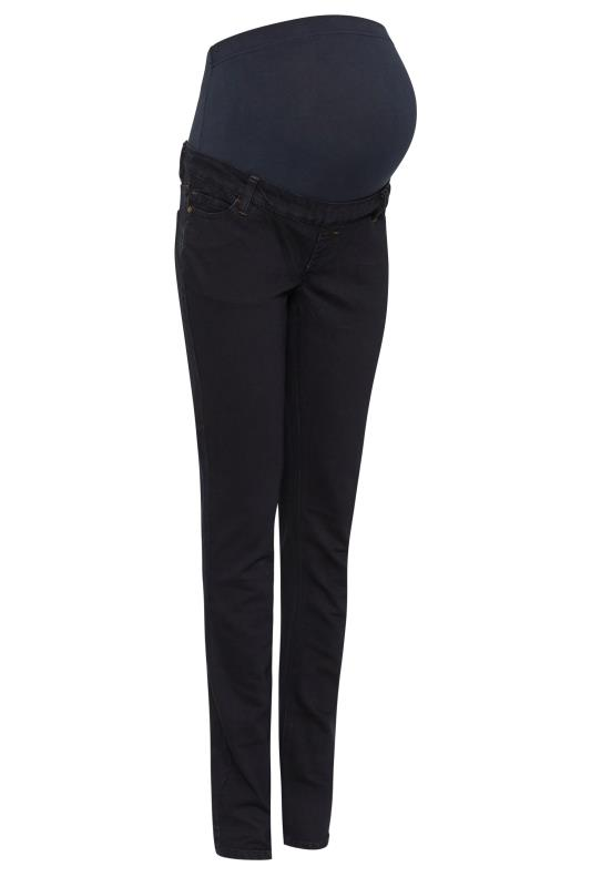 Tall  Blue Maternity Straight Jeans