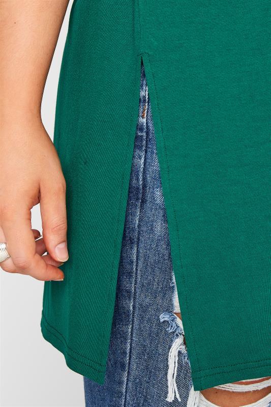 Emerald Green Oversized Jersey T-Shirt_D.jpg