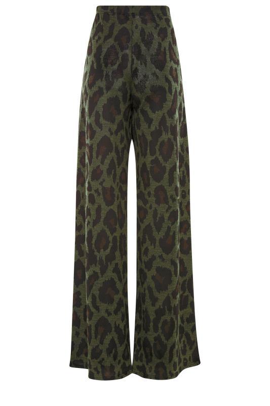LTS Khaki Leopard Print Lounge Trousers_BK.jpg