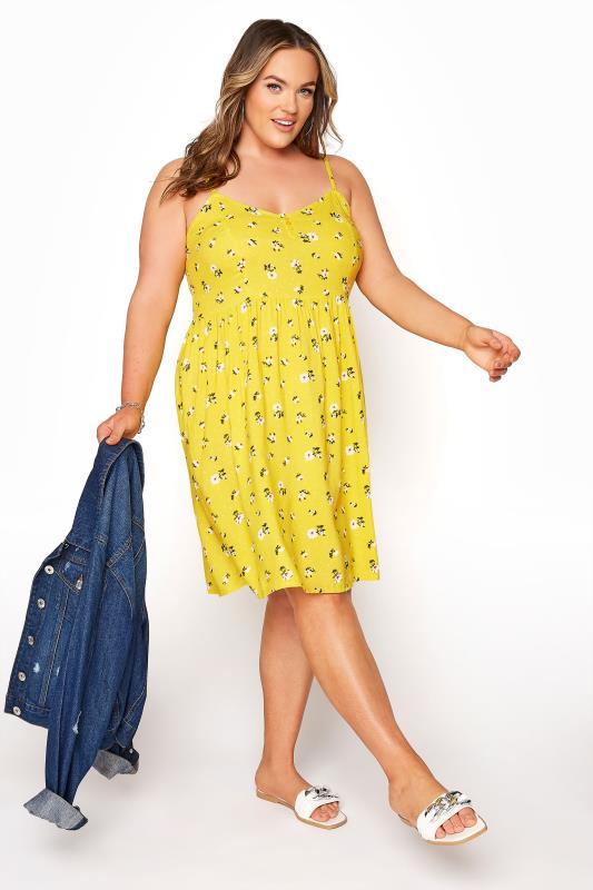 Yellow Floral Strappy Dress_B.jpg