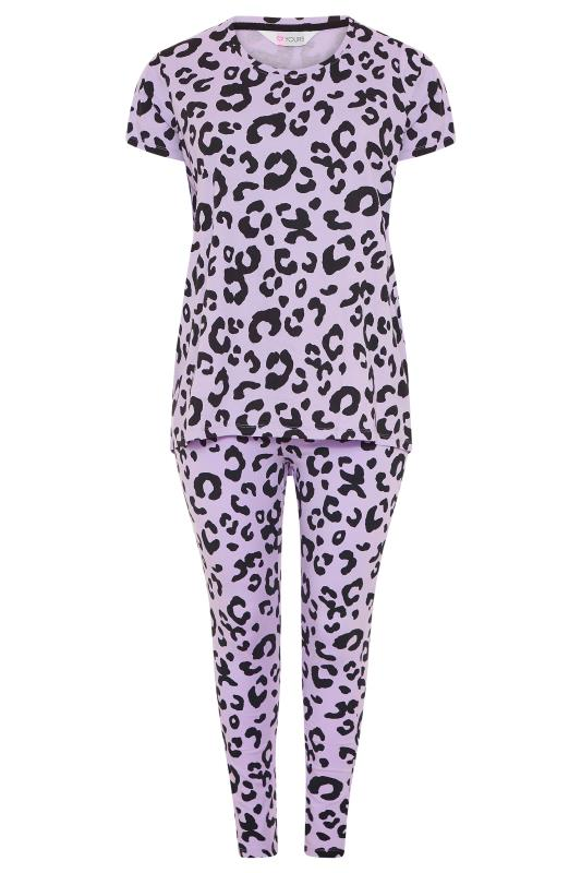 Purple Oversized Animal Print Pyjama Set_f.jpg