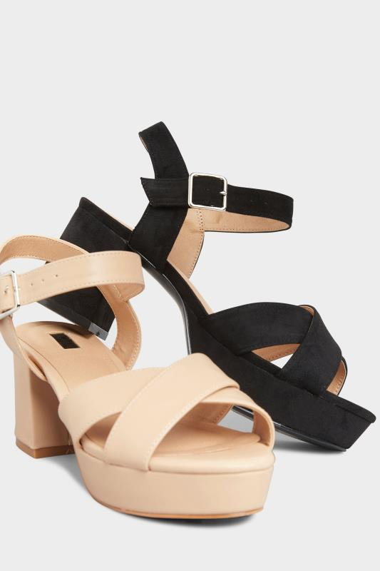 LIMITED COLLECTION Nude Platform Heeled Sandals In Extra Wide Fit_E.jpg