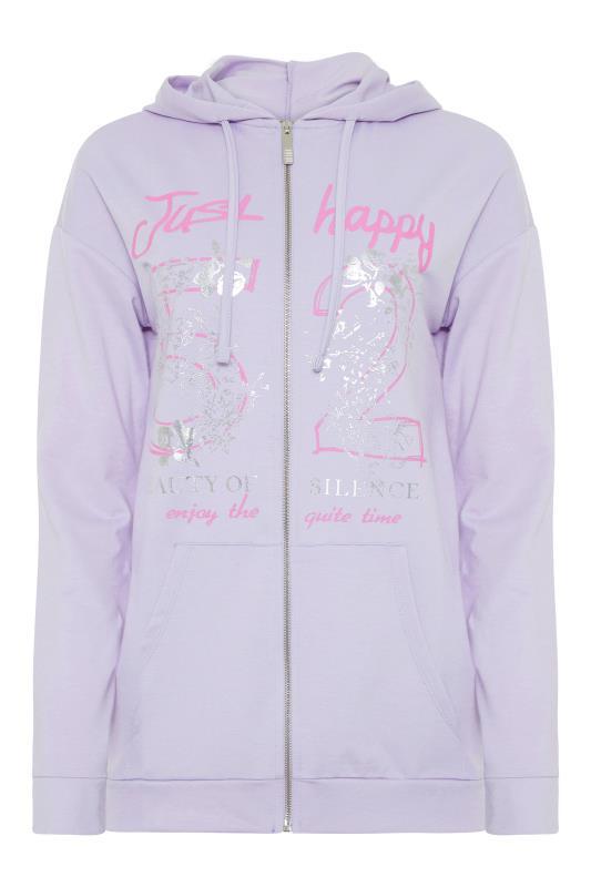 LTS Lilac Printed Zipper Hoodie_F.jpg