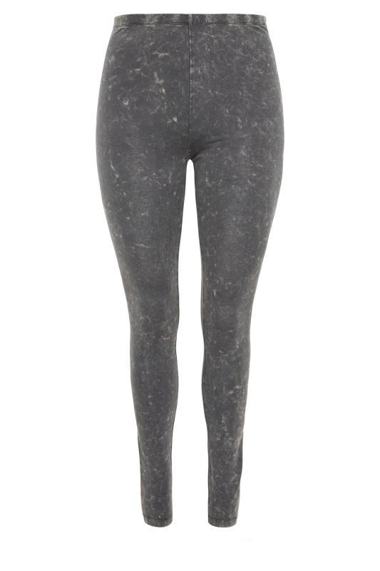 Grey Acid Wash Cotton Leggings_F.jpg