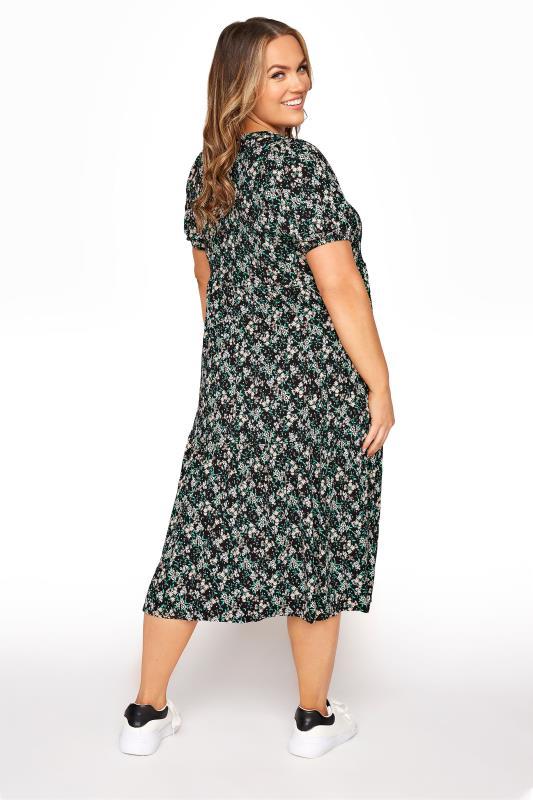 Black Floral Puff Sleeve Midaxi Dress_C.jpg