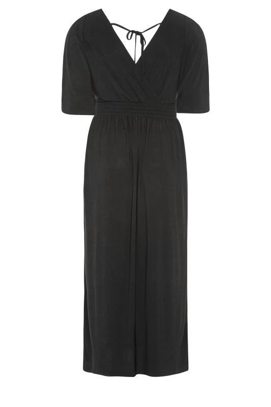 YOURS LONDON Black Wrap Midaxi Dress_BK.jpg