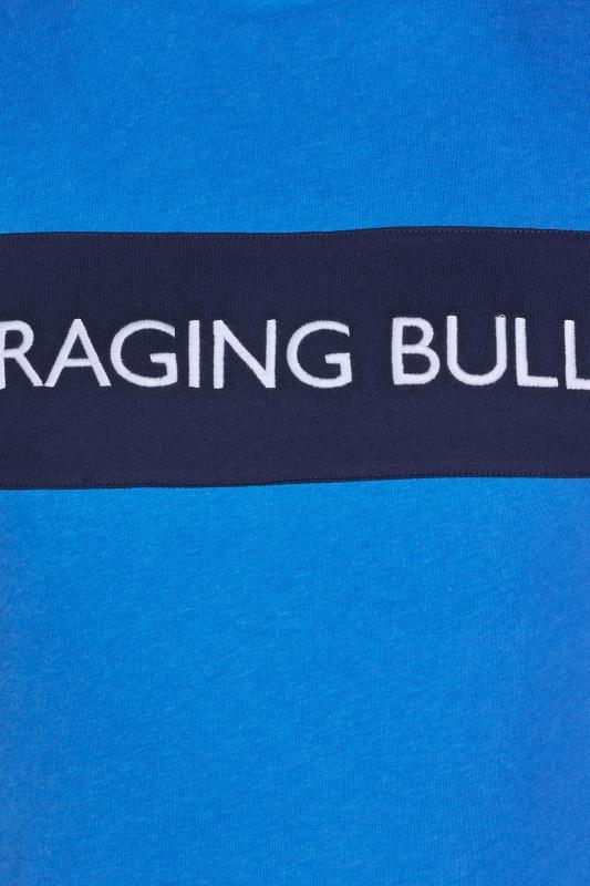 RAGING BULL Blue Cut & Sew T-Shirt_D.jpg