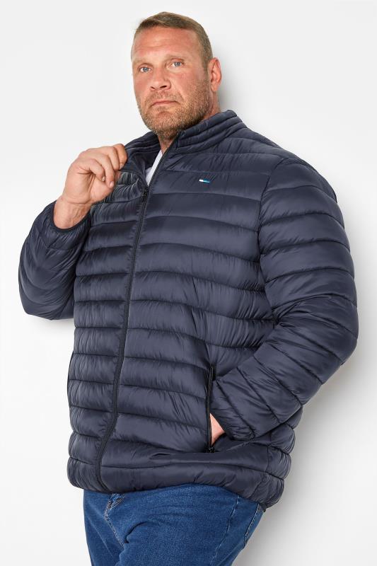 Men's  BadRhino Navy Water Resistant Puffer Jacket