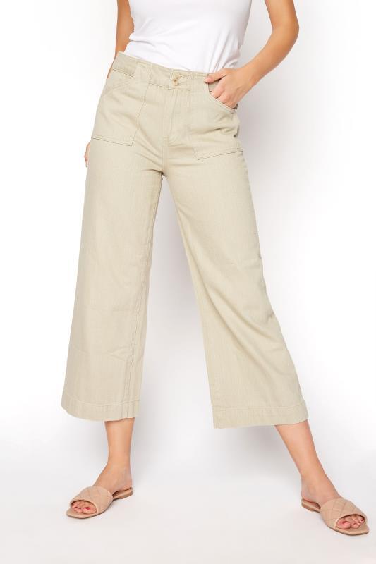 Beige Cotton Twill Culottes_B.jpg