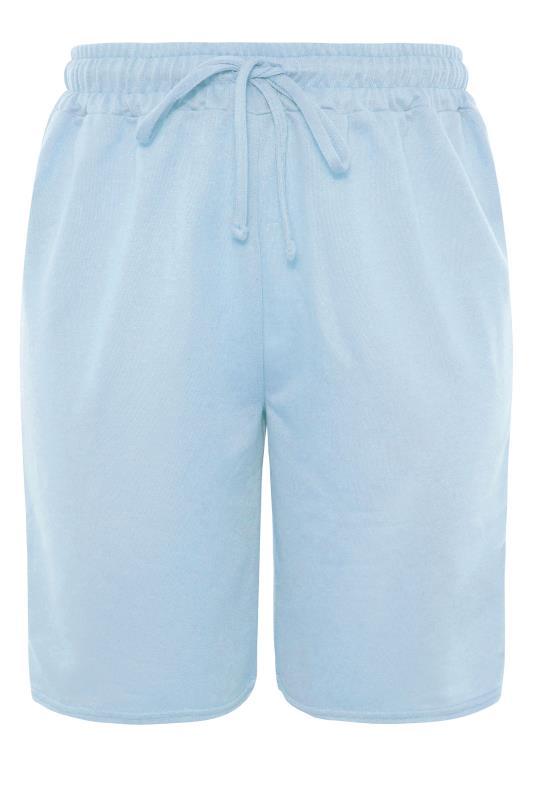 Blue Jersey Jogger Shorts_F.jpg