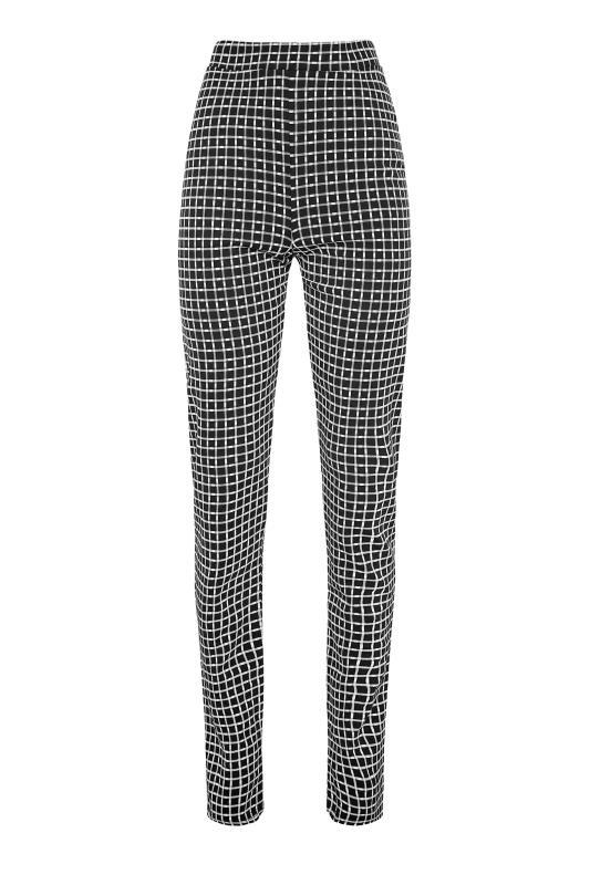 LTS Black Check Slim Leg Trousers_F.jpg