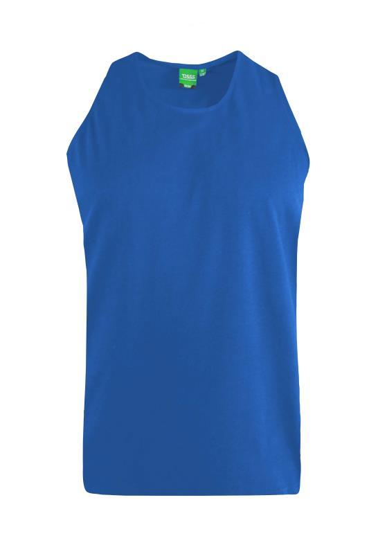 Men's  D555 Blue Muscle Vest